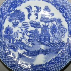 Tea Set Childand039s Replacement Vintage Japan Blue Willow Lot Of 23 Usa Seller