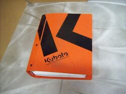 Genuine Kubota Nos Workshop Manual B7300 Tractor And Others See Picture