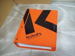 Genuine Kubota Nos Workshop Manual Bx1830 Tractor And Others See Picture