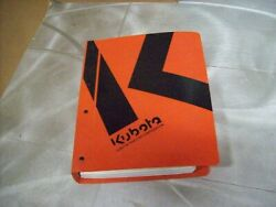 Genuine Kubota Nos Workshop Manual B1550 Tractor And Others See Picture