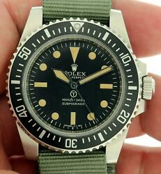Rolex Project X Designs Milspec 1 Submariner No Date 114060 Only 17 Released