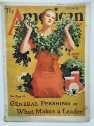 The American Magazine December 1932 Vintage Articles Short Stories Fiction Ads