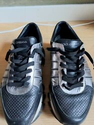 Vintage Dolce And Gabbana Mens Leather Sneakers