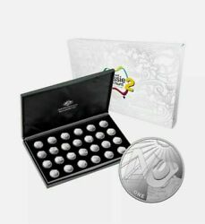 2021 Aussie Coin Hunt 2 26 Coins Silver Proof Set Limited To 500 Sets