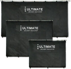 The Ultimate Archery Backstop Bow Shooting Target Back Stop 6and039 X 14and039 Ult0614
