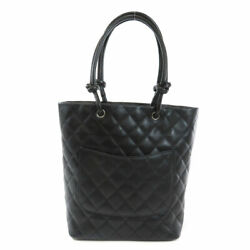Cambon Line Tote Bag Calf Women And039s Secondhand _58936