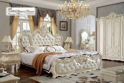 Lit Eau Lits Luxe Chambre Andagrave Coucher Chesterfield Baroque Rokoko Style Design