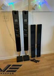 Bang And Olufsen Beolab 8000 Speakers Superb Condition With Black Grills
