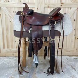 17.5 Parelli Natural Performer Western Saddle By Pullman Continental Saddlery