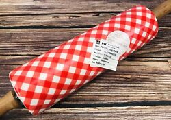 Prototype Pioneer Woman Charming Check Rolling Pin Highly Collectible Ceramic