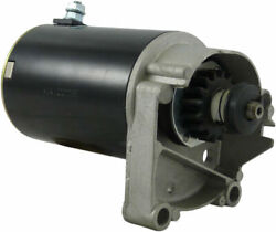 New Starter Fits Briggs And Stratton 18hp Engine Longer Case 495100 498148 5744