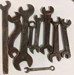 Antique Ih Open-end Wrench G3173 International Harvester/ford/teweles Tools Etc