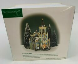 Dept 56 New England Village Deaconand039s Way Chapel Church New In Box