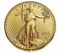 American Eagle 2021 W One Ounce Gold Uncirculated Coin 21ehn - Order Confirmed