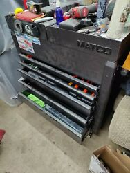 Jsc653-ssb, Matco Sliding Top Tool Chest, 5 Drawer, Silver Vein Color