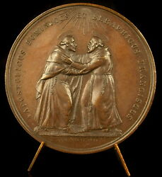 Medal 1893 Pope Leon Xiii Dad Leo Dominican Pope/franciscans Giani Medal