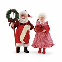 Possible Dreams By Dept 56 - Santa And Mrs Claus 6008565
