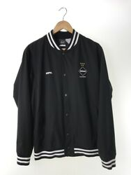 Fcrb Fc Real Bristol Jacket L Polyester Blk Fcrb200007 Cocacola Stadi