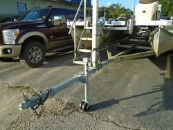 Used 2015 18and039-25and039 Magic Tilt Aluminum Pontoon/ Party Barge Boat Trailer