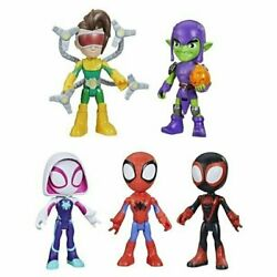 Marvel Spidey And His Amazing Friends Web Squad 5 Figures Fast Free Shipping