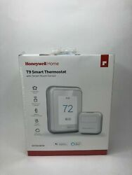 Honeywell Home T9 - Smart Thermostat W/ Sensor Rcht9610wfsw New/sealed