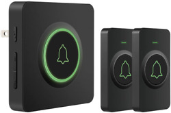 Waterproof Wireless Doorbell Db-21 With 2 Remote Buttons