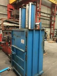 Cardboard And Plastic Compactor Or Baler.