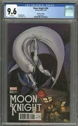 Moon Knight 200 1500 Bill Sienkiewicz Remastered Color Variant Cgc Graded 9.6