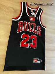 1998 Michael Jordan Nike Jersey Authentic Chicago Bulls 23 Vintage New With Tags