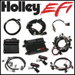 Holley Efi Hp Kit Ti-vct Controller Ntk Oxygen Sensor For 2011-2012 Ford Coyote
