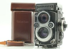[exc+5 Case] Rolleiflex 3.5f White Face Tlr Camera Xenotar Lens From Japan 4444