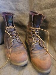Vintage Red Wing Irish Setter 80and039s Usa Supersole Trashed Perfectly Distressed