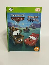 New Leapfrog Tag The World Of Cars Tractor Tipping Pixar Disney Hardcover Book