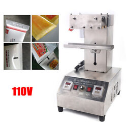 Tube Sealing Machine Toothpaste Cosmetic Plastic Tube Sealer Electric Heating Us