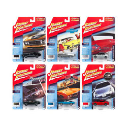 Classic Gold 2018 Release 4, Set B Of 6 Cars 1/64 Diecast Models By Johnny Li...