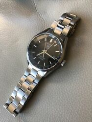 Tag Heuer Carrera Mens Twin Time Automatic Wv2115 Watch Stainless Steel Bracelet