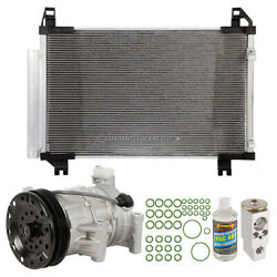 For Toyota Yaris 2015 A/c Kit W/ Ac Compressor Condenser And Drier Csw