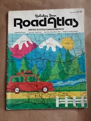 Vintage Holiday Inn Road Atlas 1979 - United States Canada Mexico Color Maps