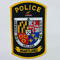 Chevy Chase Village Police Montgomery County Maryland Md Patch A1