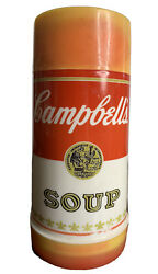 Vintage Campbells Soup Insulated Thermos Mug Cup 10oz. Widemouth Aladdin