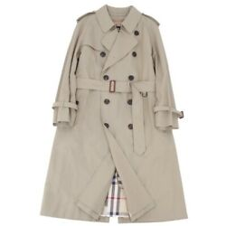London Trench Coat Cotton 100 With Liner Mens 92-170-5 Beig _65379