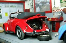 1970 + 1967 Vw Beetle Convertible Superb Rare In This Condition 1/24 Diecast