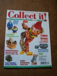 Collect It 46 Faberge Eggs Chintz Ware Keys Carnival Glass April 2001