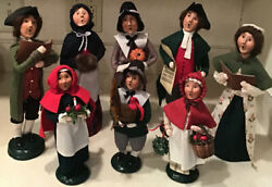 Byersand039 Choice Pilgrims Williamsburg Fall And Thanksgiving Carolers Figures