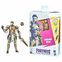 Fortnite Victory Royale Midas Rex 6-inch Action Figure In Stock