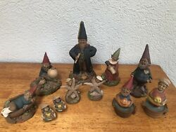 11 Gnomes By Tom Clark, Penny Collection, Vintage Collectible Figurines