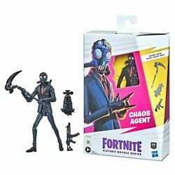 Fortnite Victory Royale Chaos Agent 6-inch Action Figure In Stock