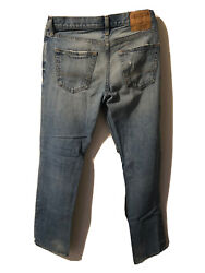 Hollister California Men's Classic Straight Button Fly Denim Jeans Size 30x32