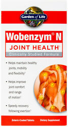 Wobenzym N By Garden Of Life 800 Tablets