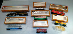 Vintage Tyco Clementine Train Set 7333 Nite Glow Dunp Car And Much More Vg 1970s